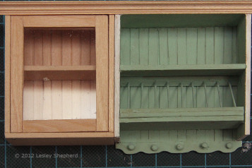 Glass Fronted Upper Cabinet