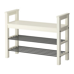 HEMNES Bench With Shoe Storage