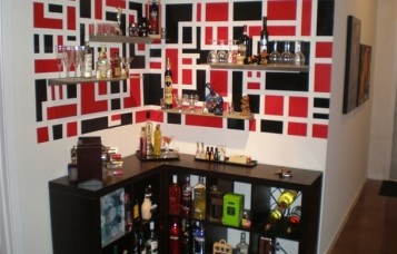 Ikea Furniture As Bar