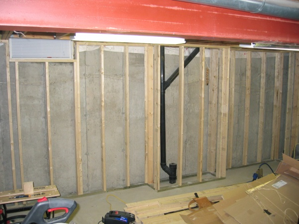 Inspection Finishing Basement Diy Basement Wall