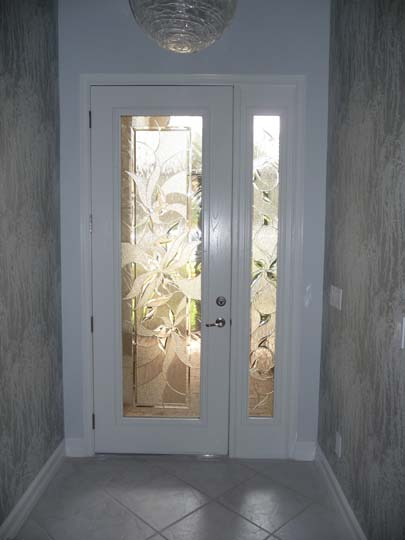Installed Front Entry Door System