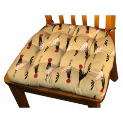 Kitchen Chair Pad With Ties