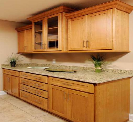Kitchen kitchen cabinet spotlats for Butternut kitchen cabinets