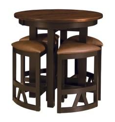 LaCrosse Solid Wood Pub Table