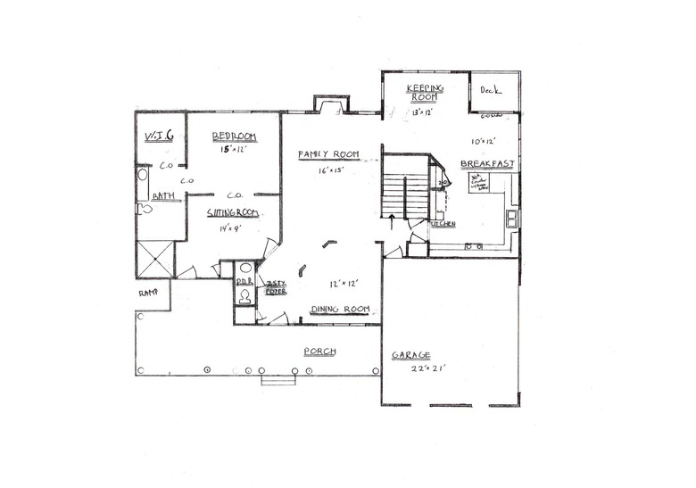 Law house plans spotlats for Floor plans for in law suite addition