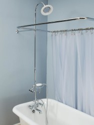 Leg Tub Shower Enclosure Set