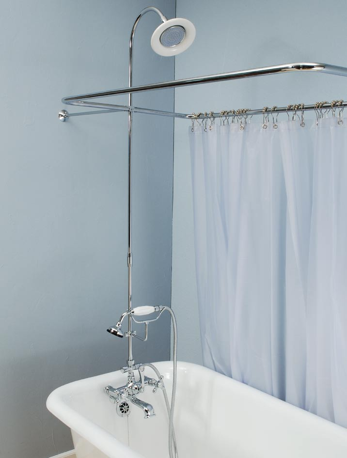 Leg Tub Shower Enclosure Set Spotlats