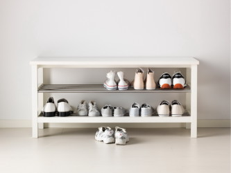 Minimalist Shoe Storage Bench Ikea