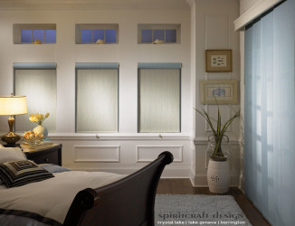 Pleated And Roman Shades