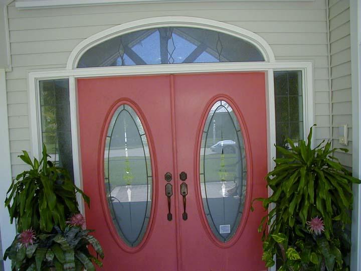 Replaced Entryway door