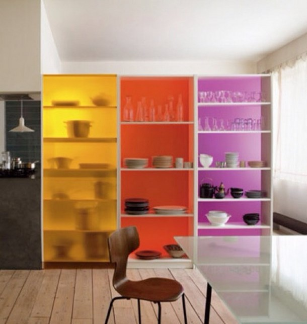Room dividers with storage spotlats for Room divider storage
