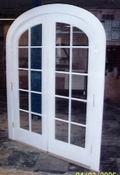 Screen Doors Arched