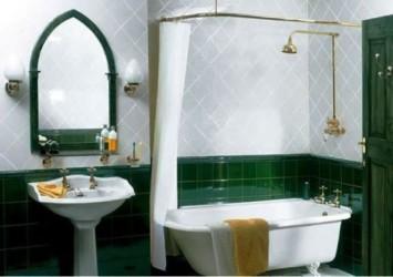 Shower Curtains Orange