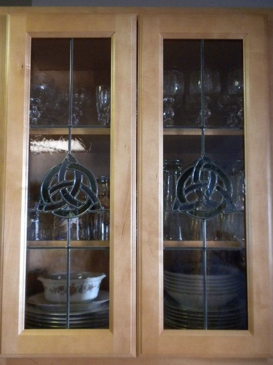 Stained Glass Cabinet