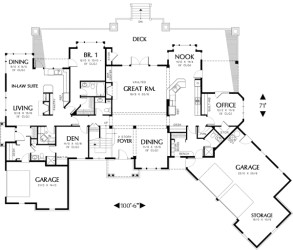 Two Story Plan