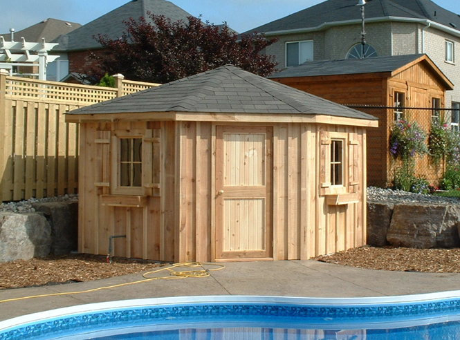 ... Shed : Under Deck Wood Storage Shed Kit is Easy to Build | Spotlats