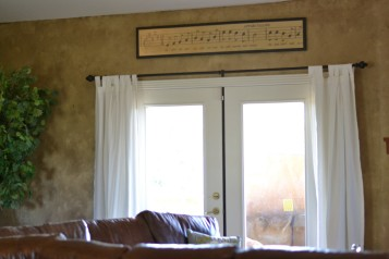 Wallpaper Window Treatments