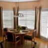 Window With Octagon Cream Carpet Rug