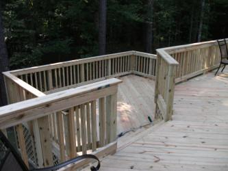 Wood Deck Materials Wooden