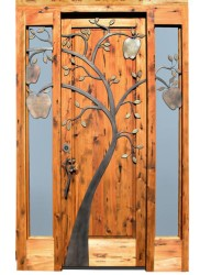 Wood Door French Panel