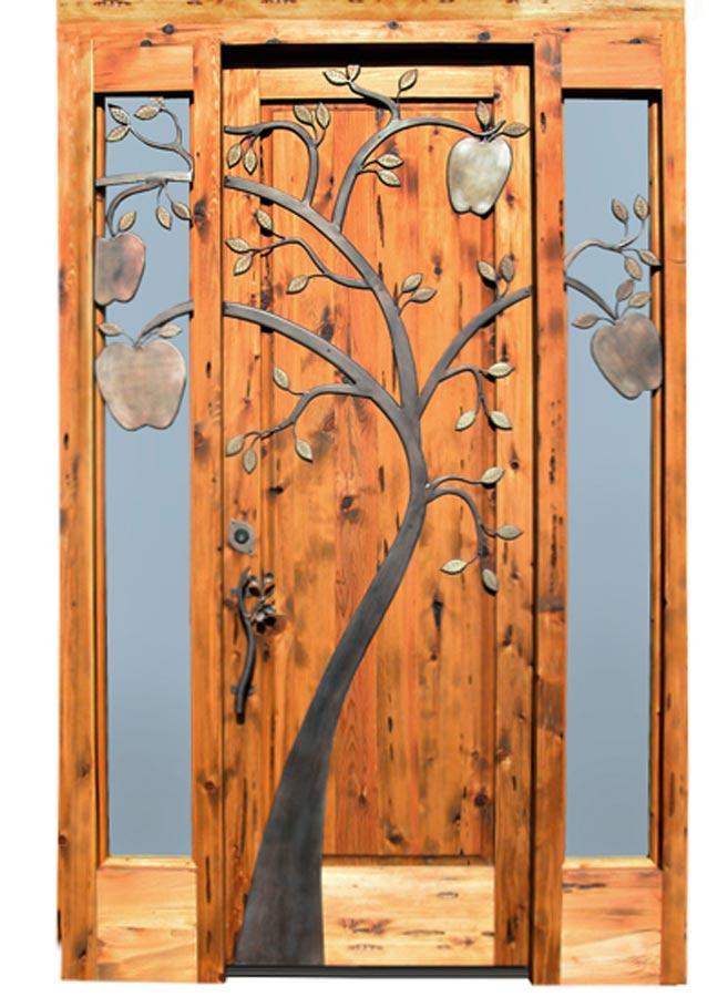 Wood Door French Panel