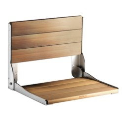 Wood Folding Shower Seat