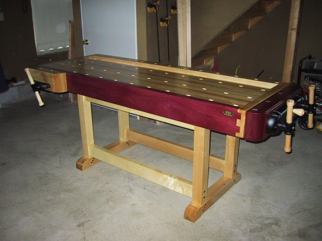 Workbench designs from scratch spotlats for Working table design ideas