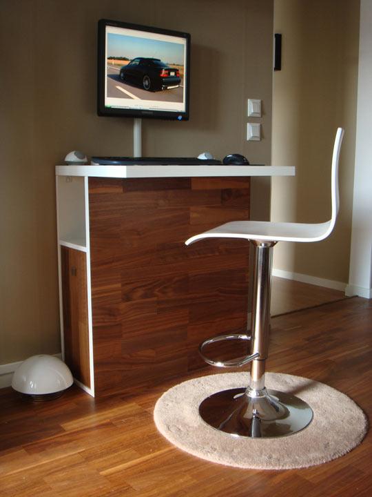 Workstation As A Home Bar
