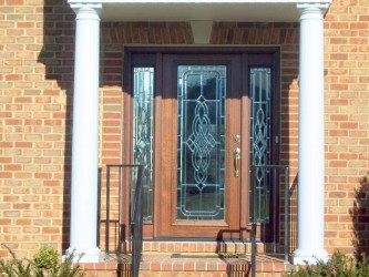 Andersen fiberglass entry doors with sidelights prices for for Anderson exterior doors