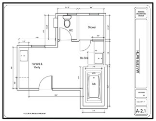 Bathroom Designs Floor Plans