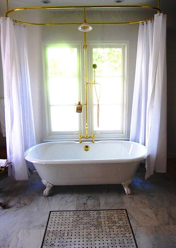 Ceiling Mount Shower Curtain