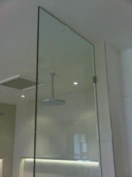 Ceiling Shower Screen