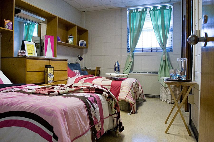 Clever Dorm Room Design