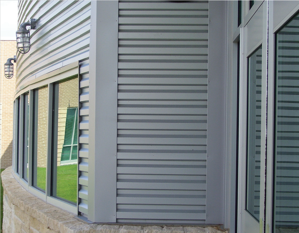 Corrugated metal siding panels spotlats for Horizontal metal siding
