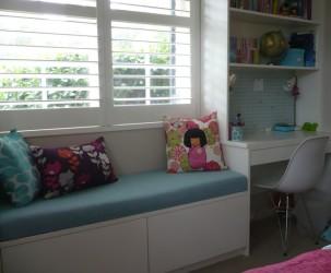Custom Bay Window Seat Cushions