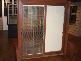 sliding patio doors with built in blinds is simple spotlats
