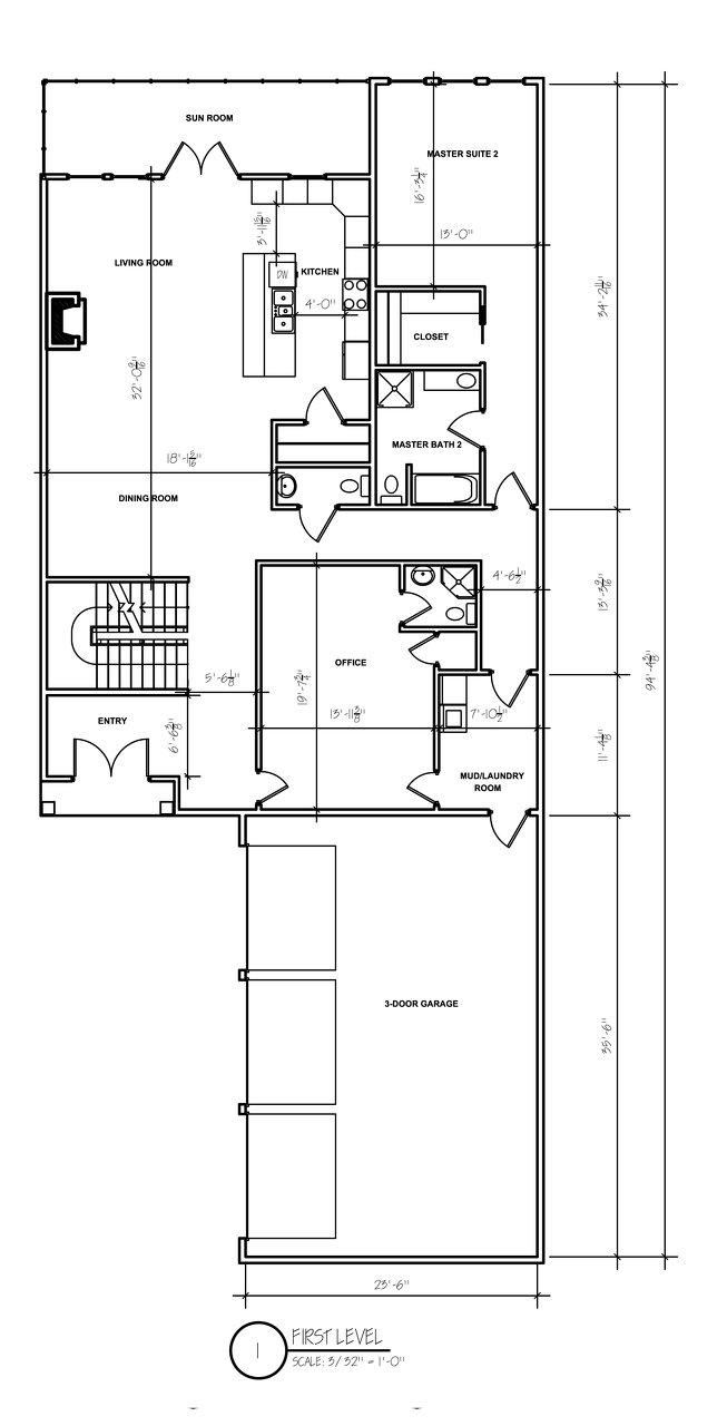 Floor plan designed spotlats for Floor plans for in law suite addition