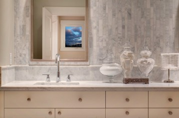 French Country Bathroom Cabinets