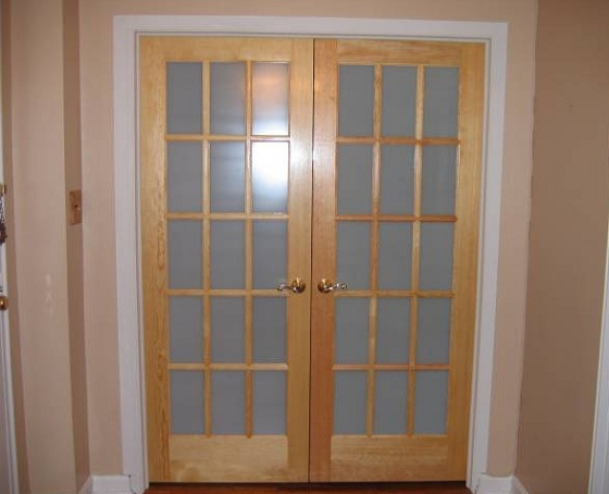 Frosted Glass French
