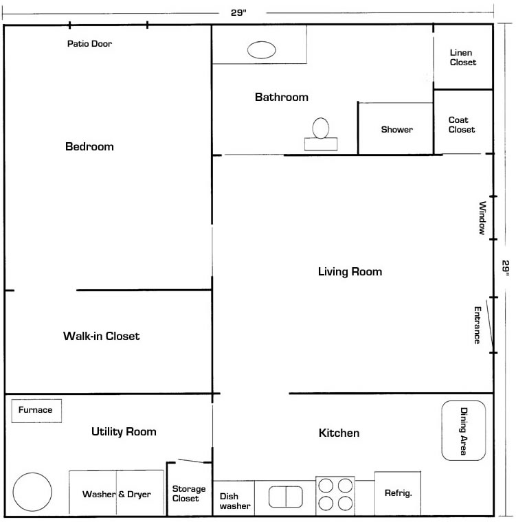 House addition plans in law suites spotlats for Floor plans for in law suite addition