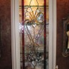 leaded glass cabinet door inserts
