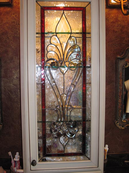 Leaded Glass Cabinet Door Inserts Spotlats
