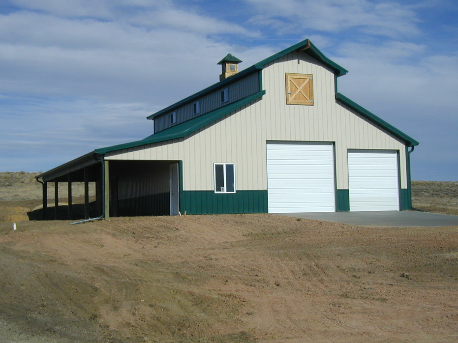 Metal pole barn house plans spotlats for Pole barns homes