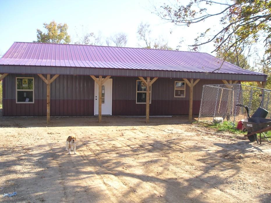 Metal Pole Barn House Plans