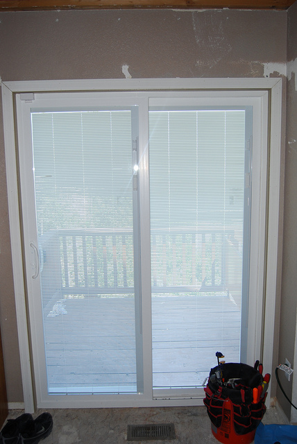 Patio Doors With Built In Blinds : Patio doors with built in shades spotlats