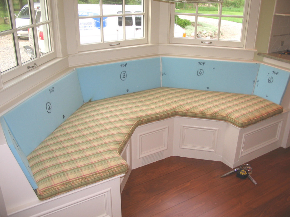 Rounded Bay Window Seat Cushions Covers