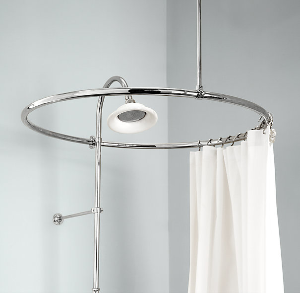 shower curtain rods