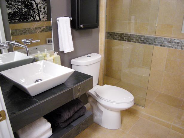 Smaller Bathrooms