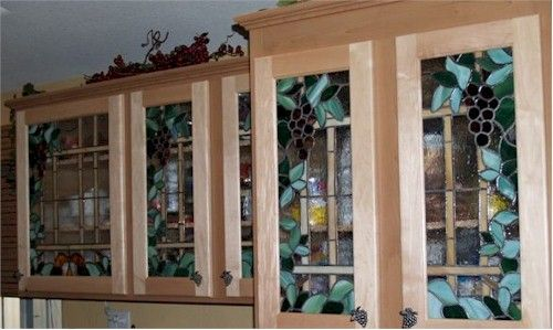 tuscan stained glass kitchen cabinets : Spotlats