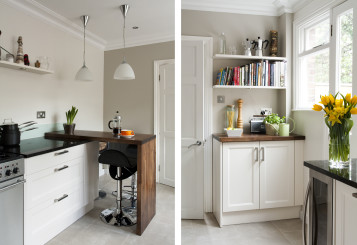 White Shaker Style Cabinet Doors